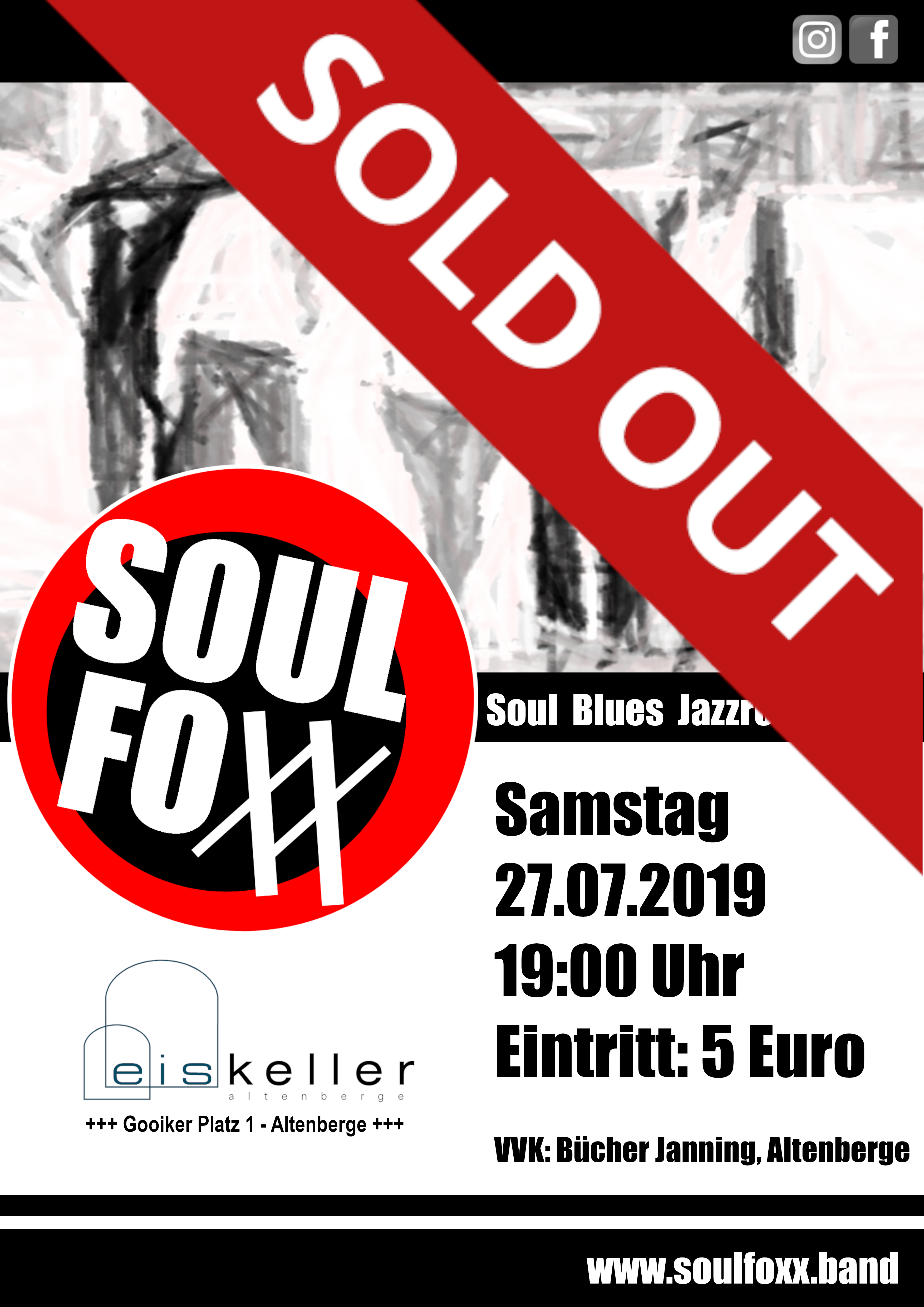 SOLD OUT! - SOULFOXX